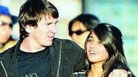 Lionel Messi a Antonella Roccuzzová.