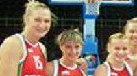 Basketbalistky Běloruska v nových dresech.