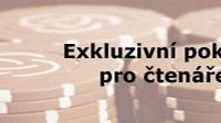 Pokerový turnaj pro čtenáře Sport.cz