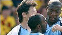 Radost fotbalistů Manchesteru City