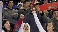 Fanoušci fotbalistů Maroka