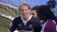 Lyon přestřílel Záhřeb vysoko 7:1, bylo to čisté? Gesto Domagoje Vidy po inkasovaném gólu je hodně výmluvné.