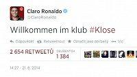 Ronaldův vzkaz pro Kloseho