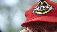 Niki Lauda nijak neskrýval nespokojenost s verdiktem komisařů ve Spa.