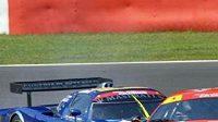 Vůz Ferrari 430 GT stáje Scuderia Ecosse na trati ve Spa