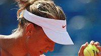 Tenistka Barbora Záhlavová-Strýcová
