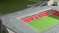 Fotbalisté Drážďan budou mít nový stadión - ilustrační foto.