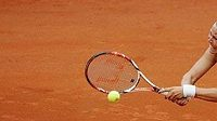 Česká tenistka Lucie Hradecká na ECM Prague Open