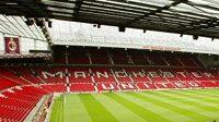 Manchesterský stadión Old Trafford - ilustrační fotografie
