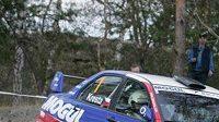 Roman Kresta s vozem Mitsubishi Lancer EVO IX