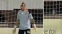 Chalid Askri, brankář marockého týmu FAR Rabat.