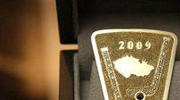 Zlatá spona s diamanty pro desítku oceněných ve Zlaté hokejce 2009