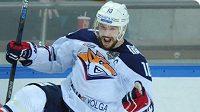 Ruský hokejový útočník Sergej Mozjakin z Magnitogorsku