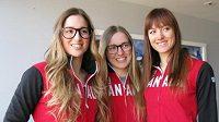 Sestry Maxime, Chloe a Justine Lapointeovy sdílejí nejen stejnou lásku ke stejnému sportu, ale i stejný úsměv.