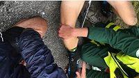 Peppe Femling se kuriózně zranil při jízdě na kolečkových lyžích