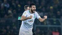 Zkušený útočník Werderu Brémy Claudio Pizarro.