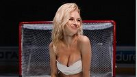 Uljana Trigubčaková je vášnivou hokejovou fanynkou.