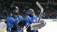 Hokejisté Slovanu Bratislava utrpěli v KHL debakl.
