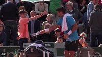Tento moment pořádně pobavil fanoušky na French Open.