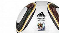 Oficiální míč fotbalového MS 2010 v Jihoafrické republice Jabulani