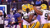Packers porazili Giants rozdílem tří bodů