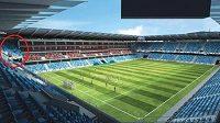 Národní stadión v Bratislavě se sice teprve staví, ale o reklamu má ve světě postaráno už nyní.