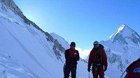 Ve druhém postupovém táboře na Gasherbrumu II.