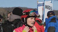 Česká lyžařka v boulích Nikola Sudová