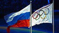 Nezavlaje ruská vlajka ani na dalších olympijských hrách?