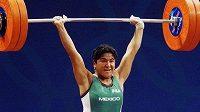 Soraya Jiménezová na OH v Sydney, kde vybojovala zlato.
