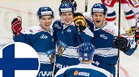 Hokejisté Finska v loňském roce zůstali na MS bez medaile. Spraví si chuť v Rusku?