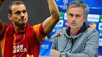 Wesley Sneijder ví, že José Mourinho Chelsea zbožňuje.