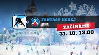 Fantasy KHL. První kolo začíná 31.10 v 17:00