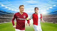 Slavia chce double! V poháru ji čeká Sparta