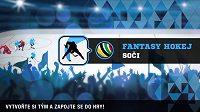 Hokejový turnaj v Soči se nezadržitelně blíží a s ním i další Fantasy.