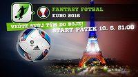 Fantasy EURO 2016 začíná už tento pátek ve 21:00