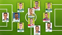 Sestava 17. kola fotbalové Fortuna ligy podle Sport.cz