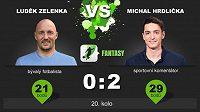 Michal Hrdlička vyhrává i ve druhém duelu