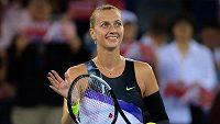 Petra Kvitová vstoupila do turnaje v Pekingu vítězně.