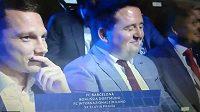 Reakce místopředsedy představenstva Slavie Tomáše Syrovátky po losu v Monaku.