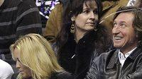 Wayne Gretzky s manželkou Janet