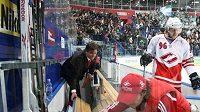 Kontinentální hokejová liga se přes Vánoce nezastaví