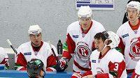 Hokejisté ruského týmu Viťjaz Čechov