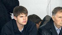 Viktor Tichonov se svým slavným dědečkem Viktorem