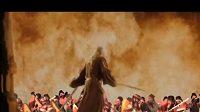 Čaroděj Gandalf se snaží ovládnout hráče na vuvuzelu.
