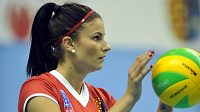 Volejbalistka Andrea Kossányiová