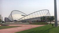 Stadión Chalífa, dějiště MS v atletice 2019.