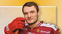 Hokejista Michal Novák