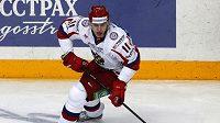 Ruský hokejista Jevgenij Malkin