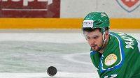 Hokejový útočník ve službách Ufy Alexandr Radulov